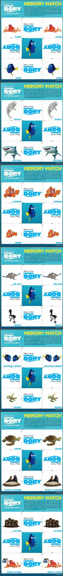 Disney's FINDING DORY Free Downloadable Activity Kit