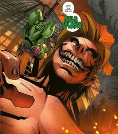 Anime{ attack on titan y hulk } . . . . . Nome { titan vs Hulk } . . . Sera que Hulk esmaga ?!  . . Curte e comenta ! . . . Ig | animesfoda  by devilzsmile.com #devilzsmile