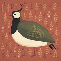 Portly Peewit  by Catriona Hall