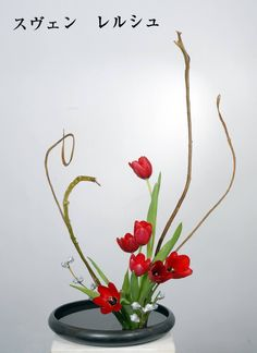 ikebana. Japanese flower i presume=^.^= quite kawaii<33