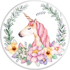Unicorn Pop Socket Phone Holders For Smartphones and Tablets