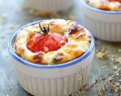 Mini quiche sans pâte au chèvre et tomates cerises  (facile, rapide) - Une recette CuisineAZ