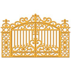 SB gilded gate    Joans Gardens | Paper crafting products for card making and scrapbooking.