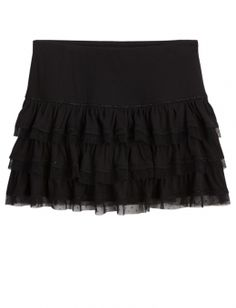 TIERED KNIT SKIRT | GIRLS SKIRTS & SKORTS CLOTHES | SHOP JUSTICE
