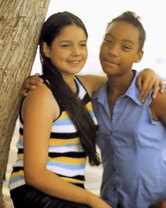 """Teen Girls"" posing in outside a church in El Paso Texas."