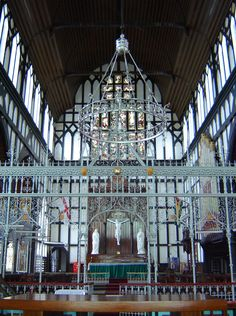A picture of the Saint George Cathedral in Georgetown, Guyana which is considered as the tallest wooden building.