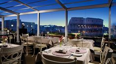 You Can Dine In Front Of The Colosseum At Palazzo Manfredi Hotel Rome Luxury Travelbest Restaurants