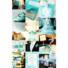 Wedding - Tiffany Blue via Polyvore
