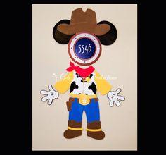 Woody Toy Story Stateroom Door Magnets for Disney Cruise Door