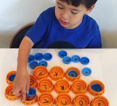 Alphabet Lids Letter Activity * ages ⋆ Raising Dragons Alphabet Lids 💡 ages 💡 We love this idea of using beverage container lids to practice learning letters. We used orange juice lids and milk carton lids (which happen… Continue Reading → Preschool Learning Activities, Alphabet Activities, Infant Activities, Preschool Activities, Teaching Kids, Preschool Curriculum, Indoor Activities, Indoor Games For Toddlers, Activities For 4 Year Olds