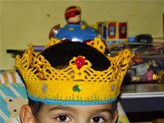 Amigurumis Ganchillo y mas: Corona de ganchillo