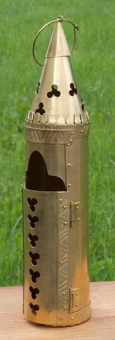 14th century brass lantern reproduction