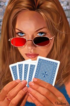 fadbb12e4d5 Animated Woman Playing Poker Photo  This Photo was uploaded by Find other  Animated Woman Playing Poker pictures and photos or upload your o.