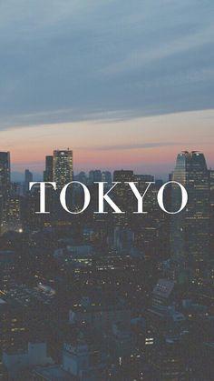 Tokyo | Pinterest: @chenebessenger
