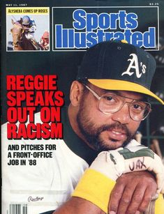 May 11, 1987 - Reggie Jackson.