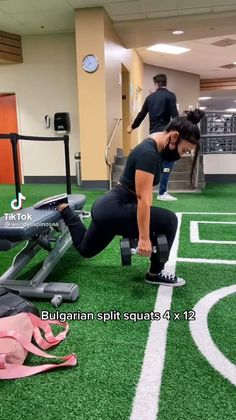Leg And Glute Workout, Gym Workout Videos, Gym Workout For Beginners, Squat Workout, Fitness Workout For Women, Workout Challenge, Gym Workouts, Motivation, Free Weights