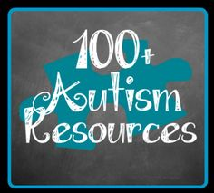 100 Links to Autism Resources! Repinned by playwithjoy.com. For more autism pins visit pinterest.com/playwithjoy.
