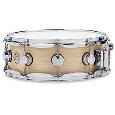 "Drum Workshop 5""x14"" Maple Snare Drum w/Satin Oil Finish (Natural)"