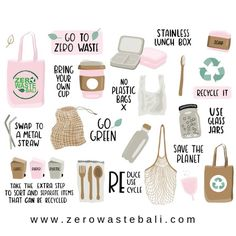"ZERO WASTE BALI on Instagram: ""How many of these do you do on a daily bases? This is not a competition either. 🤩 Simply just a reminder to us all on what we can be…"""