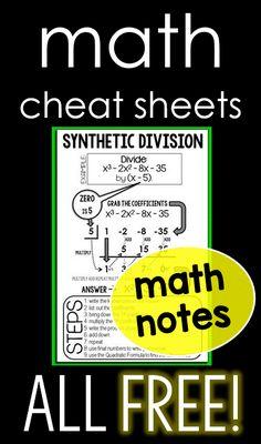 Math Charts, Math Anchor Charts, Math Formula Sheet, Math Cheat Sheet, Math Answers, Math Classroom Decorations, Math Coach, Math Notes, Fifth Grade Math