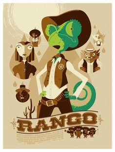 Inspiration: Rango by Tom Whalen