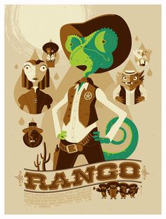 Inspiration: Rango by Tom Whalen