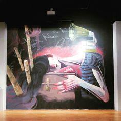 Obra de Malakkai en la exposición Diez años de @festivalasalto, en el Centro de Historias hasta el 15 de Noviembre #decimoasalto #zaragozaguia #zaragoza #regalazaragoza #zaragozapaseando #zaragozaturismo #zaragozadestino #miziudad #zaragozeando #mantisgram #magicaragon #loves_zaragoza #loves_aragon #igerszaragoza #igerszgz #igersaragon #instazgz #instamaños #instazaragoza #zaragozamola #zaragozacity