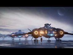 Recreating Star Citizen Concept Art in Unreal Engine 4