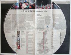 Coverage of Chilean Miners' Rescue in Expresso Newspaper (digital)