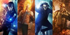 DC Legends of Tomorrow Atom Firestorm Cold Heat Wave DCs Legends of Tomorrow Cast Talks CWs New Spinoff