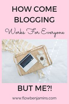 Blogging can work fo
