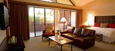 Beautiful and comfortable accommodations at The Lodge at Ventana Canyon - ResortsandLodges.com #travel #vacation #Arizona