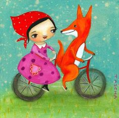 """Frida Folk Art"" ~ by Tascha Parkinson"