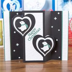 Tattered Lace Little Monsters Die - Polar Bear from Create and Craft USA Tedy Bear, Create And Craft, Little Monsters, Christmas 2016, New Shows, Christmas Cards, Crafty, Lace, Happy