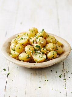 new potato salad with shallots parsley and vinaigrette potato salad ...