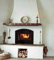 Most recent Absolutely Free colonial Fireplace Mantels Popular fireplace spanish style Adobe Fireplace, Stucco Fireplace, Fireplace Design, Fireplace Mantels, Fireplace Screens, Fireplace Tools, Spanish Style Homes, Spanish House, Spanish Colonial