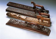 Mangle board, Norway. A mangle board was considered an essential item for all young housewives. A carved board was often given as a gift to a new bride by her husband. Object no. 1650, http://www.horniman.ac.uk/object/1650