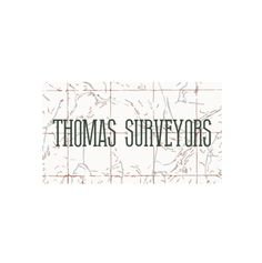 Logo Design for Thomas Surveyors