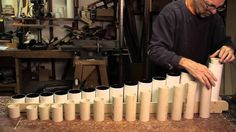 Fantastic video on how a marimba is made. The best part is the end!