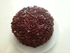 Min hverdagskos: Sjokolade Ganache Frosting, Cake, Desserts, Recipes, Recipe Ideas, Food, Pastel, Deserts, Kuchen