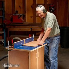 Once you mount your router in a router table, you might never remove it. Use these plans to build this router table and change your woodworking world.