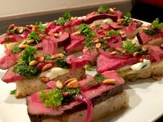 Salsa Verde, Sous Vide, Tuna, Sandwiches, Fish, Meat, Pisces, Paninis, Atlantic Bluefin Tuna