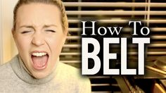 Tips on how to learn to belt in a healthy way! https://www.youtube.com/watch?v=5bP7l... http://www.patreon.com/evynnehollens Twitter: http://twitter.com/evyn...