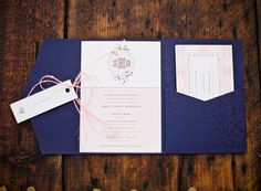 pink + purple invitation suite | Michelle Warren