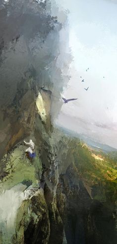 Mountain Climbing - Pictures & Characters Art - Assassin's Creed III