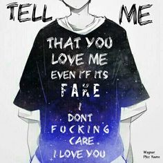 idFc from Blackbear Anime Qoutes, Manga Quotes, Music Quotes, Me Quotes, Dark Quotes, Memes, Hot Anime Guys, Human Art, Yandere