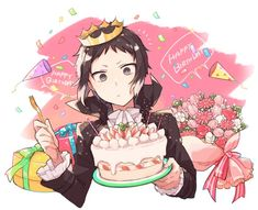 Happy Birthday Drawings, Happy Birthday Art, Stray Dogs Anime, Bongou Stray Dogs, Hand Drawing Reference, Alien Concept Art, Fanart, Cute Anime Pics, Cute Disney Wallpaper