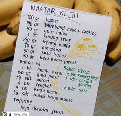Indonesian Desserts, Indonesian Food, Bolu Cake, Mochi Cake, Resep Cake, Secret Recipe, Cake Cookies, No Bake Cake, Cookie Recipes
