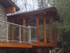 Cedar  Serenity Hut  Elevated for level access and view from the hot tub