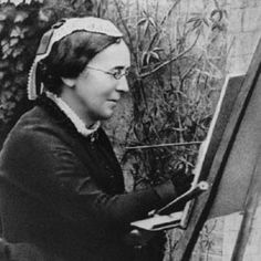 Marianne North (1830-1890) - Painter, explorer and flower enthusiast.  Traveled the world painting new and exotic flowers.